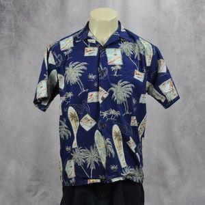 The Hawaiian Original Surf Board Hawaiian Shirt